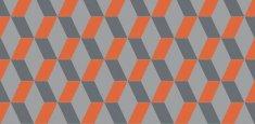 Cubic Bright Orange